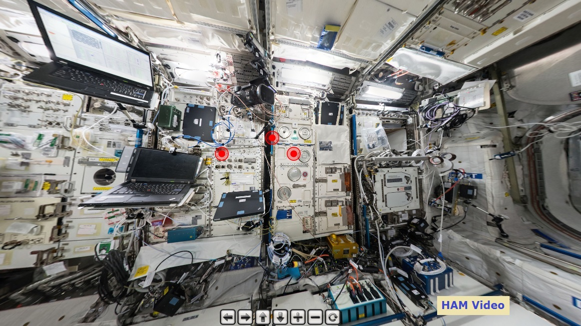 Click on the photo for a visual visit to the Columbus module